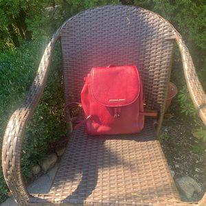 MK Small Burgundy backpack